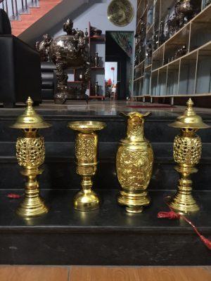 Lục Bình dát vàng cao 40cm