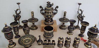 ý nghĩa của bộ đồ thờ bằng đồng trong phong tục thờ cúng của người Việt Nam