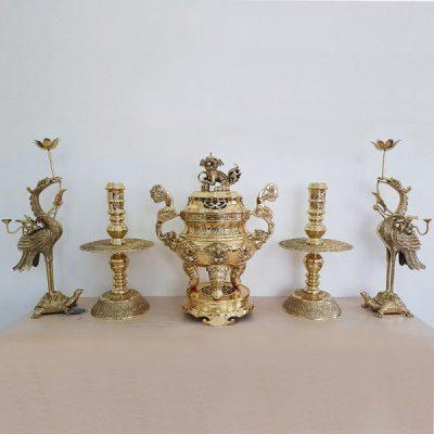 đồ thờ bằng đồng Đại Bái